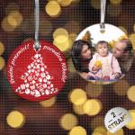 Stiže Nova Godina poklon ukras