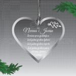 Još jedna godina ljubavi poklon ukras