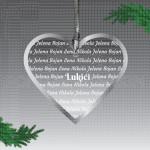 Prezime u srcu poklon ukras
