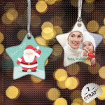 Pozdrav Deda Mrazu poklon ukras