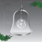Pahuljica u zvoncetu poklon ukras