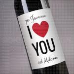 Volim te poklon vino