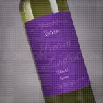 Srećan rođendan volim te mama poklon vino