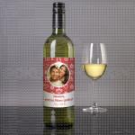 Srećna Nova godina poklon vino