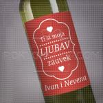 Ti si moja ljubav poklon vino