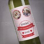 Tacke ljubavi poklon vino