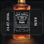 Kum na venčanju poklon viski