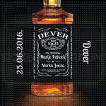Dever na vencanju poklon viski