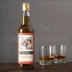 Poklon viski sa slikom i posvetom